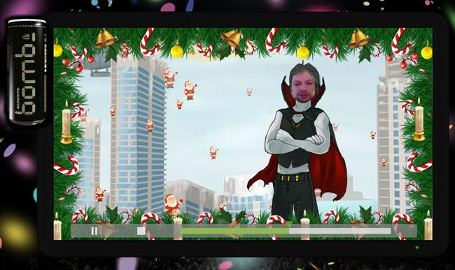 виртуальная открытка к Новому году