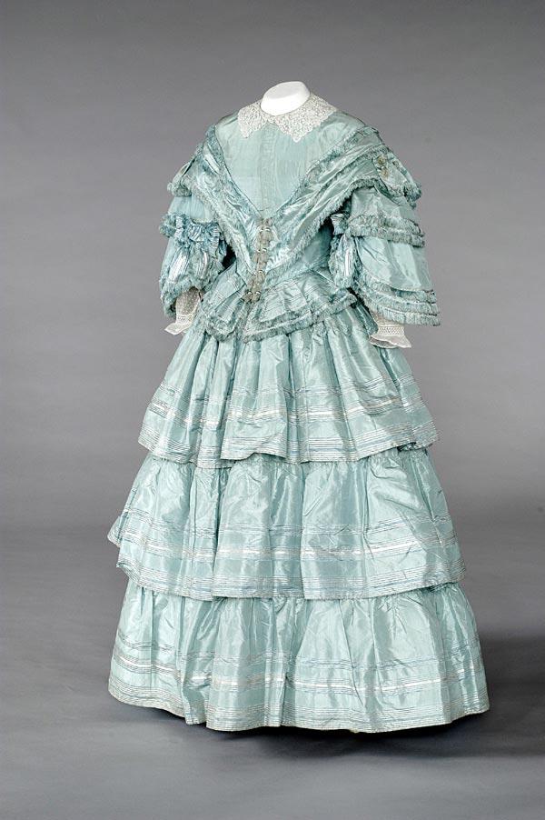 Женское платье 20 век англия