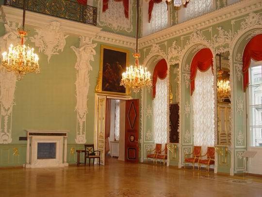 строгановский дворец интерьеры