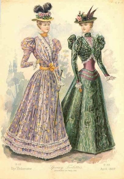 мод. гравюра 1897