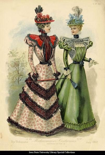 мод. гравюра 1897 г