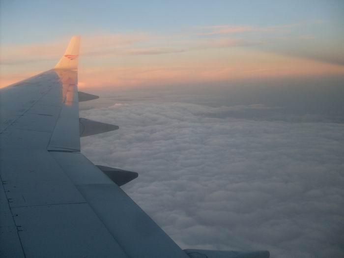 Вид из окна самолета 2