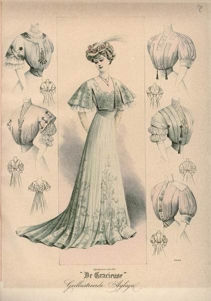 Платье, 1907 год