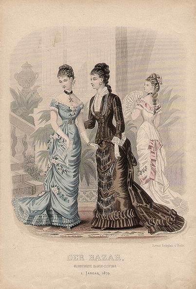 Бальное платье 1879 г