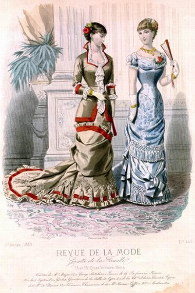 Бальное платье 1880