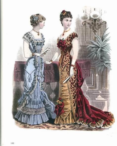 Веечрние платья 1880-82