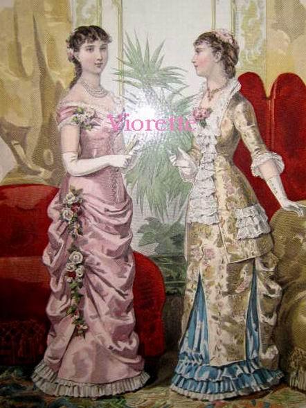 Женская мода 1881