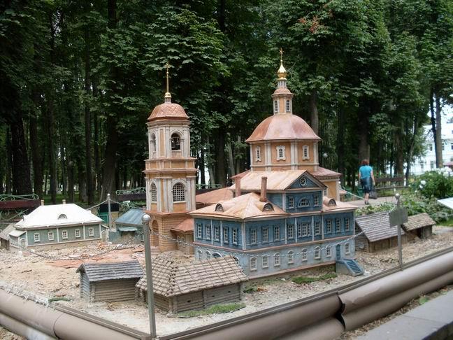 Смоленск макет храма