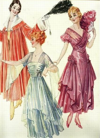 Платье 10 века
