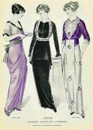 Resize of Женские платья 1913 год