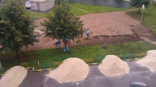 05, строительство спортплощадки ул Талалихина.1