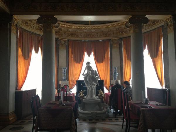 интерьеры Дома ученых (резиденция Романовых)