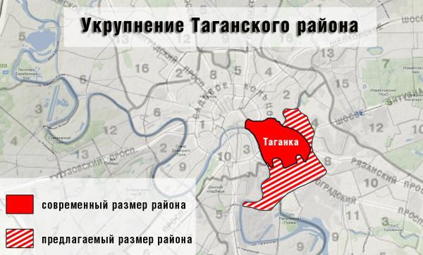 расширение Таганки