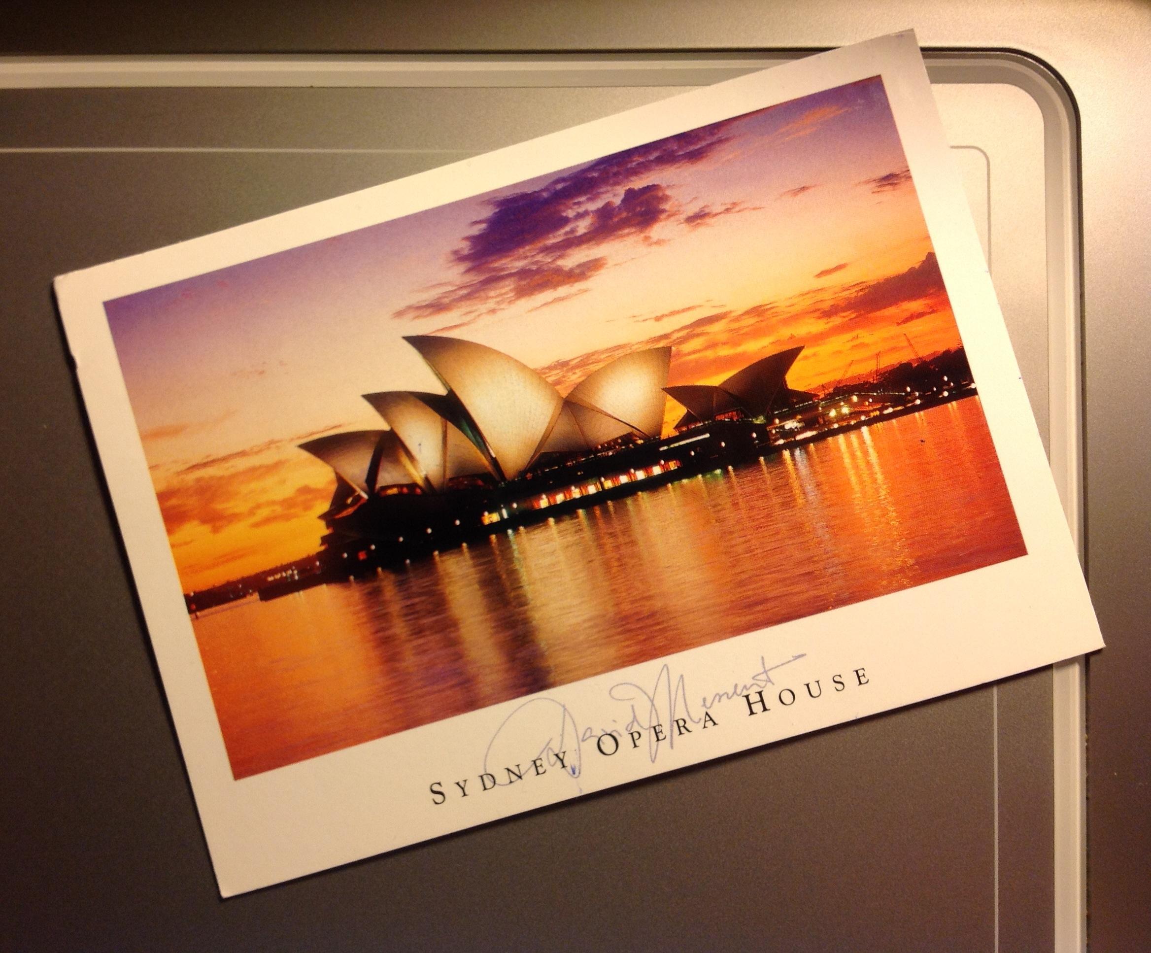 AU postcard