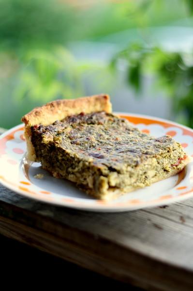сырный пирог с зеленью62