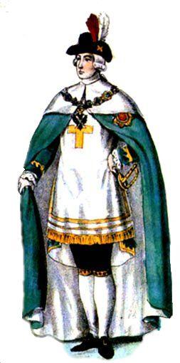 Орденский костюм для Андреевских кавалеров