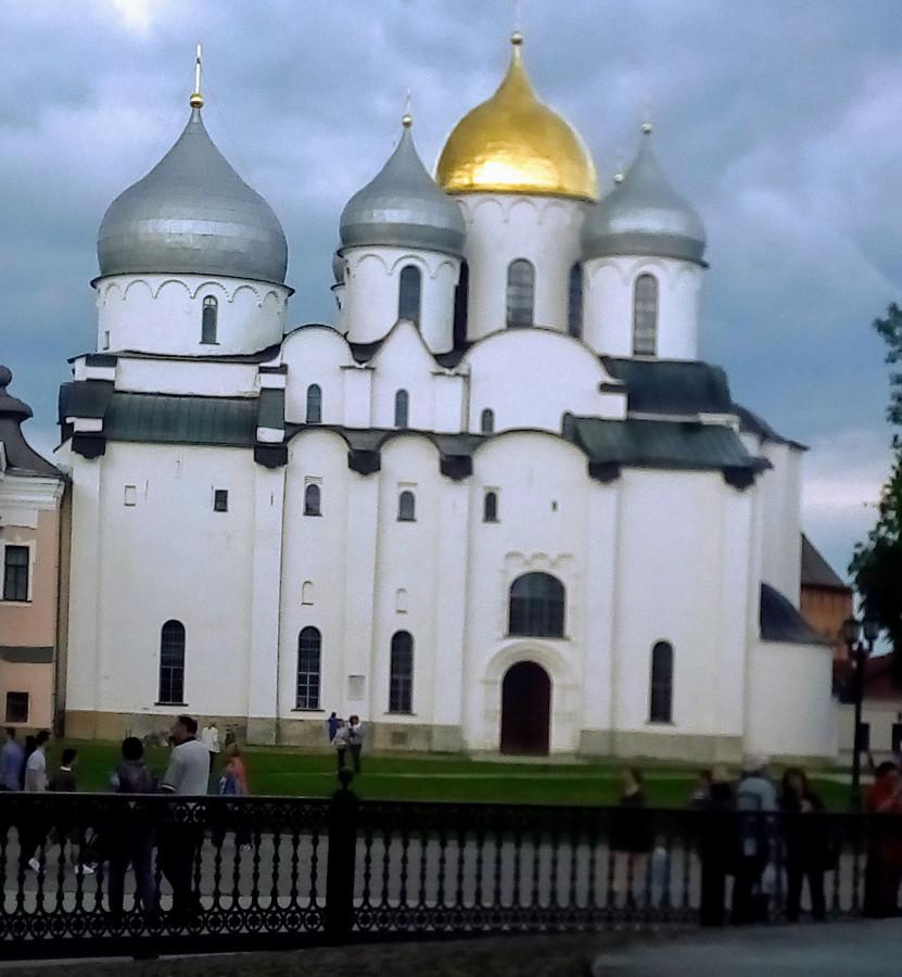 Храм Софии Новгород