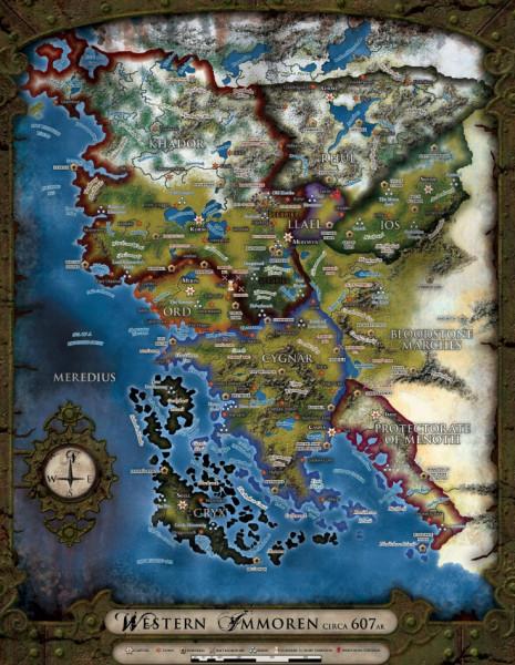 Карта имморена