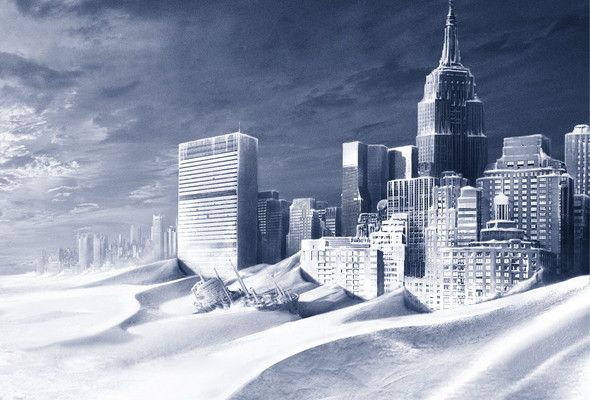 Человечество ждет новый ледниковый период
