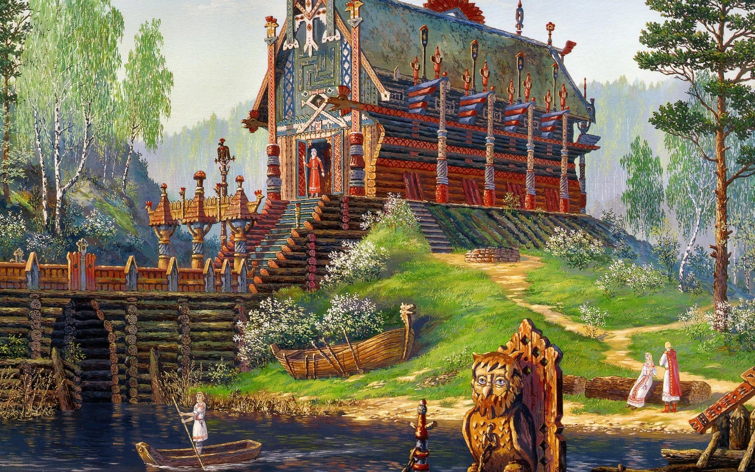 Vsevolod-ivanov-sventovida-temple-late-spring-russian-folklore-