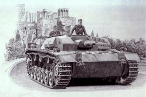 Безбашенный танк для безбашенных захватчиков.