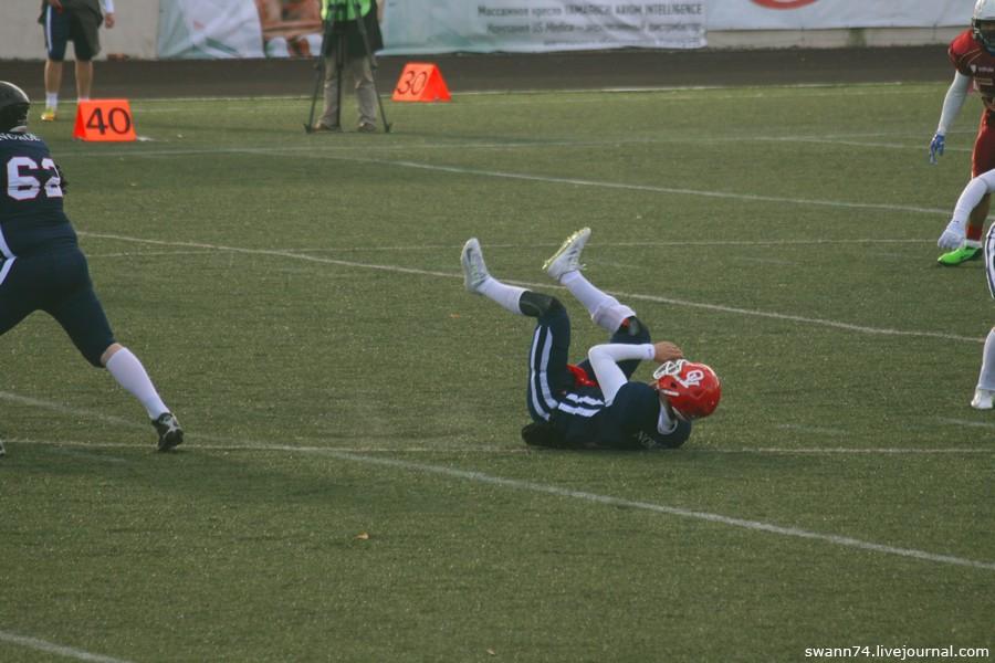 Американский футбол в Пушкине