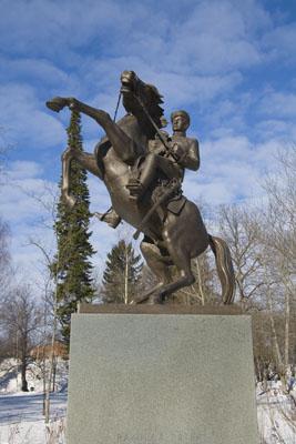 Лаппеенранта, памятник драгунам.
