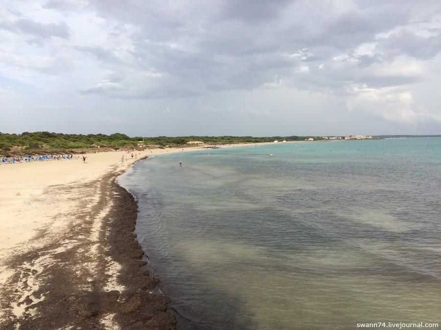 Пляж Es Trenc, Майорка