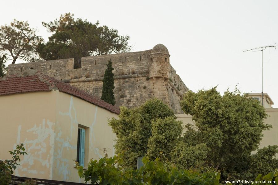Город Ретимно, остров Крит, Греция, май 2016 года