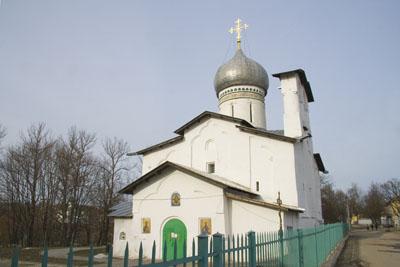 Псков, Церковь Петра и Павла с Буя.