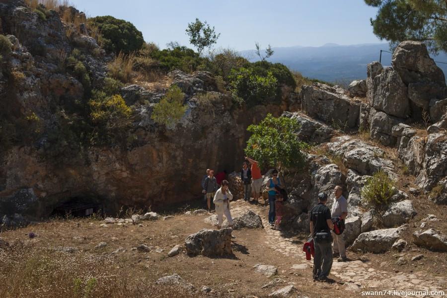 Мелидони, Остров Крит