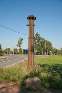 Александровские ворота. Август.
