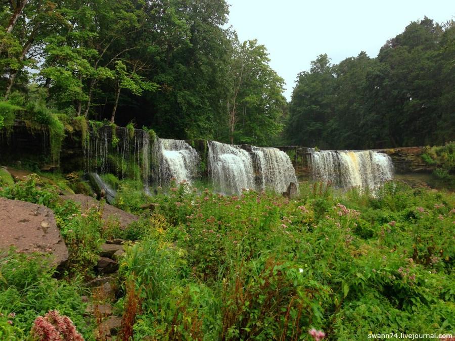 Водопад в Кейла-Йоа, Эстония