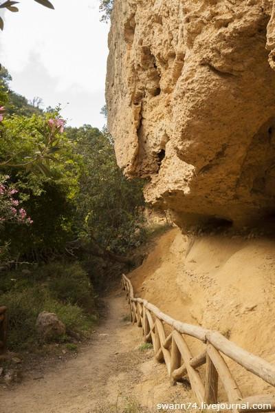 Ущелье Мили, Ретимно, остров Крит