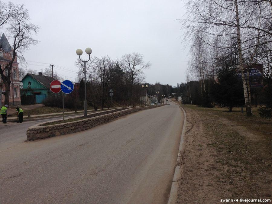 Печоры, Псковская область, апрель 2017 года