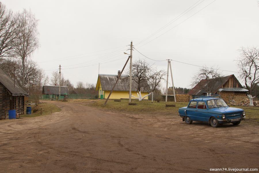 Погост Тайлово, Псковская область, апрель 2017 года