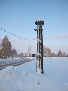 Александровские ворота. Январь.