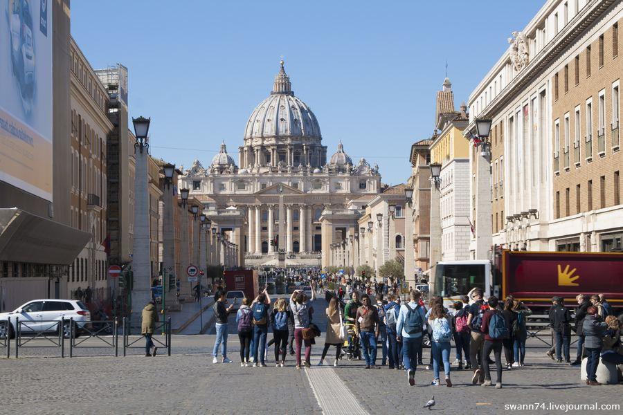 Рим, март 2017 года