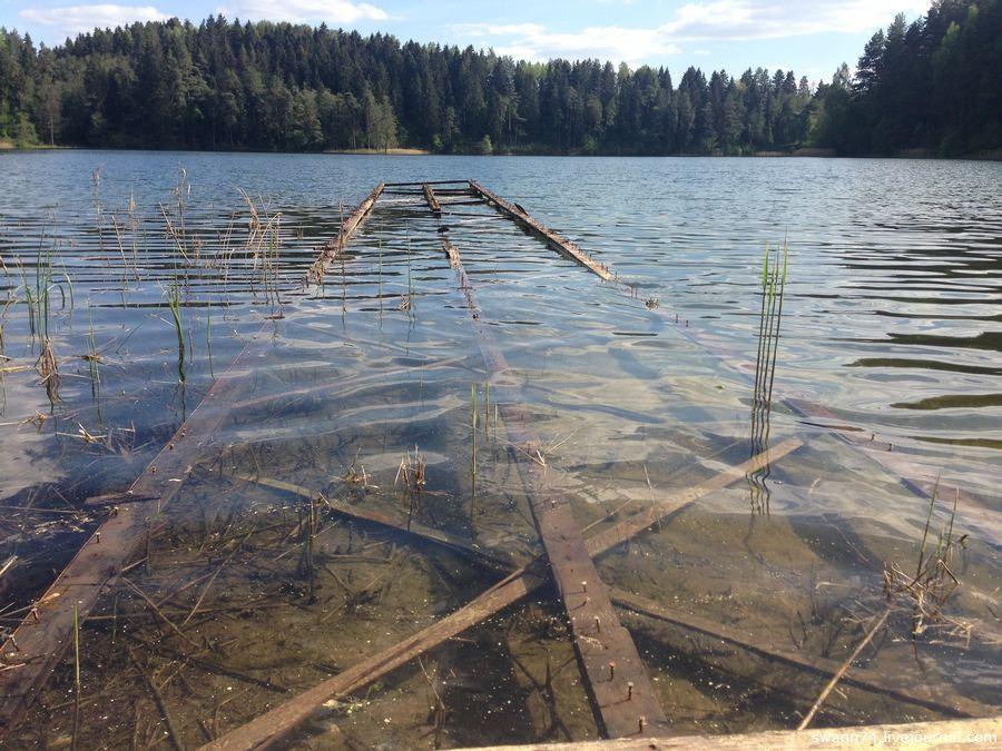 Зеленое озеро, Игналина, Литва