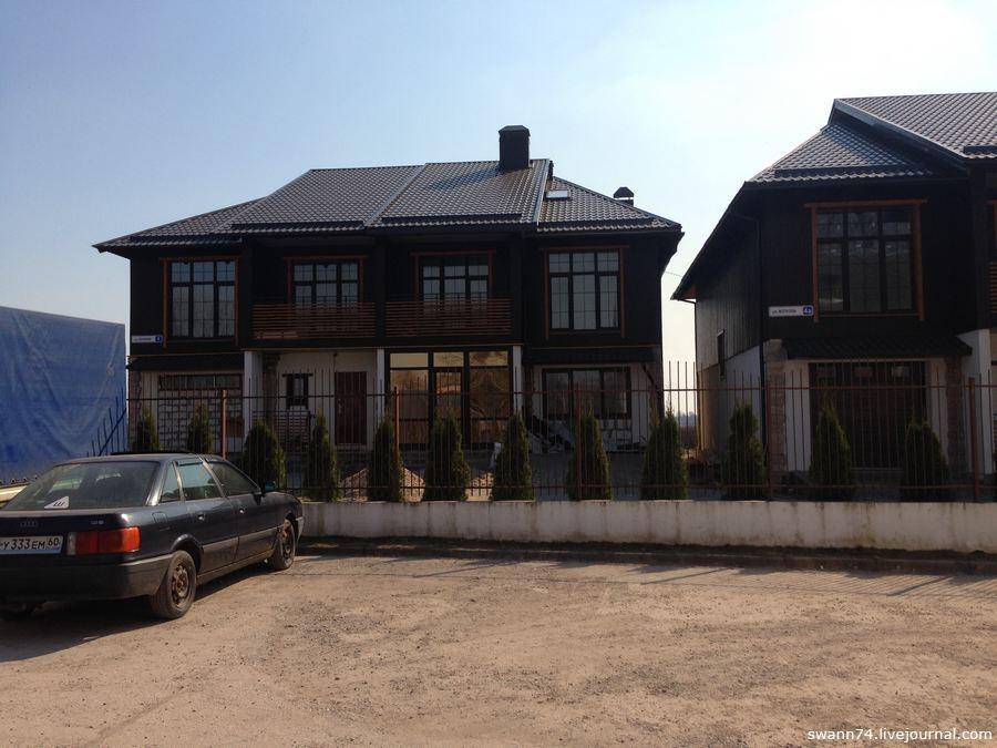 Деревня Писковичи, Псков, апрель 2018 года