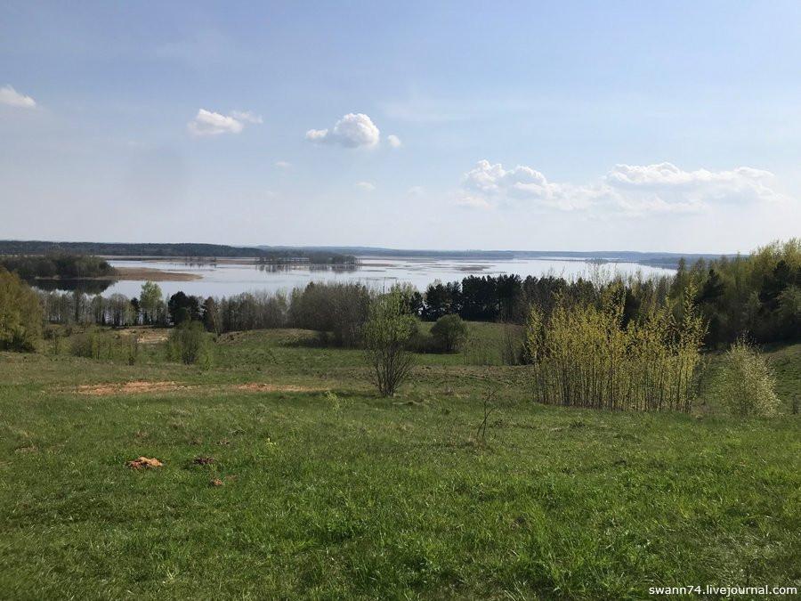 Гора Маяк, окрестности Браслава, Белоруссия, май 2018