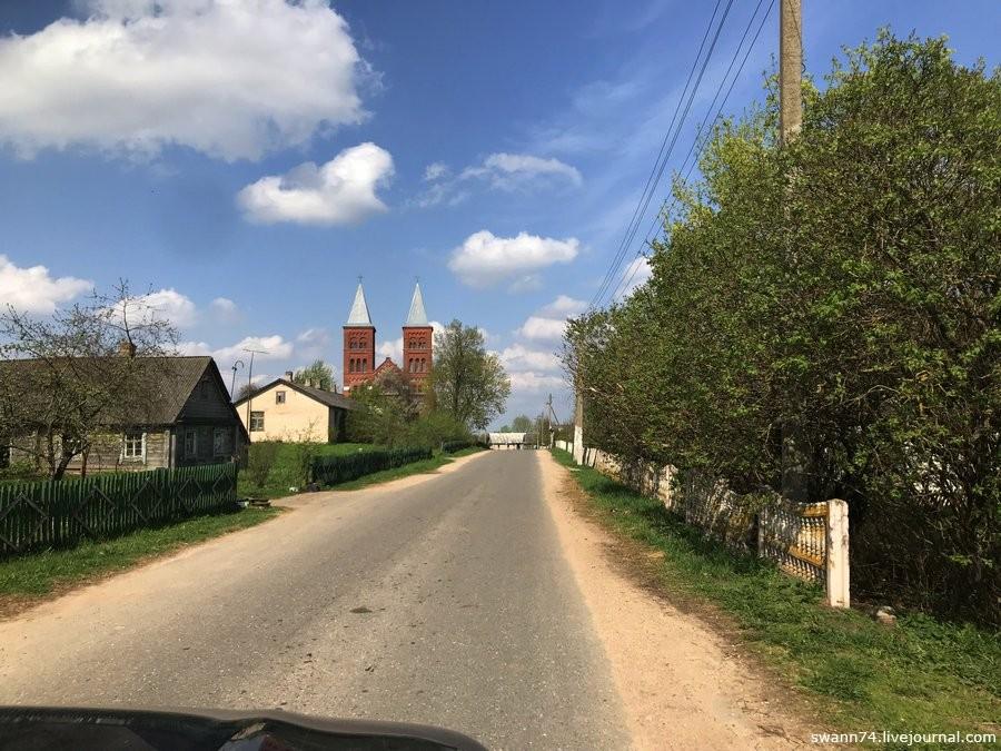 Деревня Иказнь, Белоруссия, май 2018