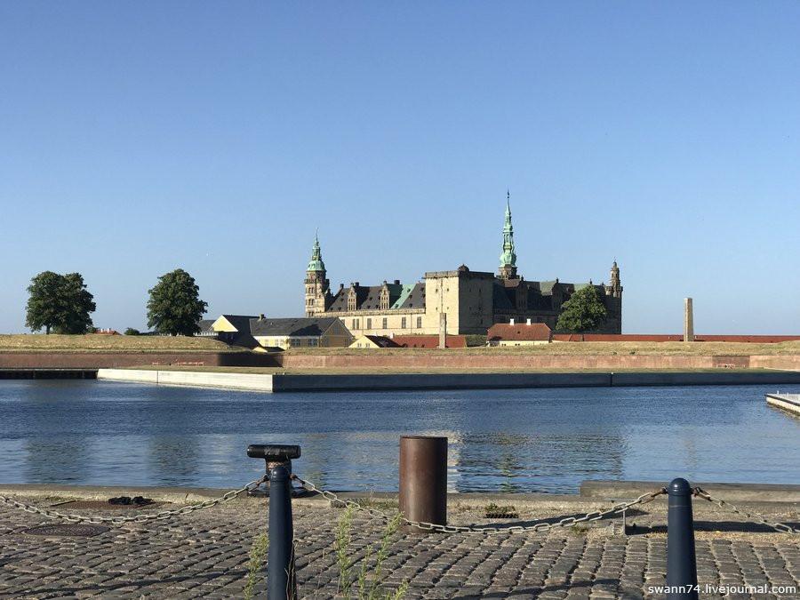 Дания, замок Кронборг, июль 2018 года