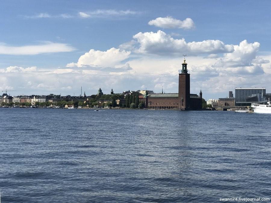 Швеция, Стокгольм, июль 2018 года