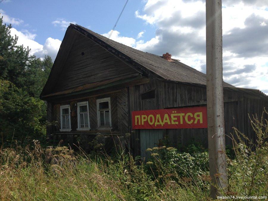 Новгородская область, деревня Частова, август 2018 года