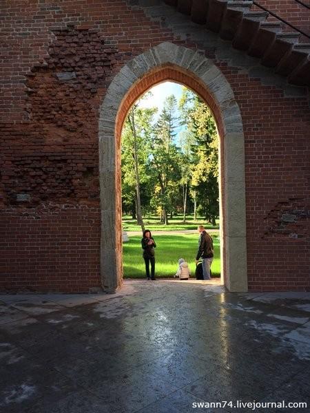 Павильон Шапель в Александровском парке Царского Села, сентябрь 2018