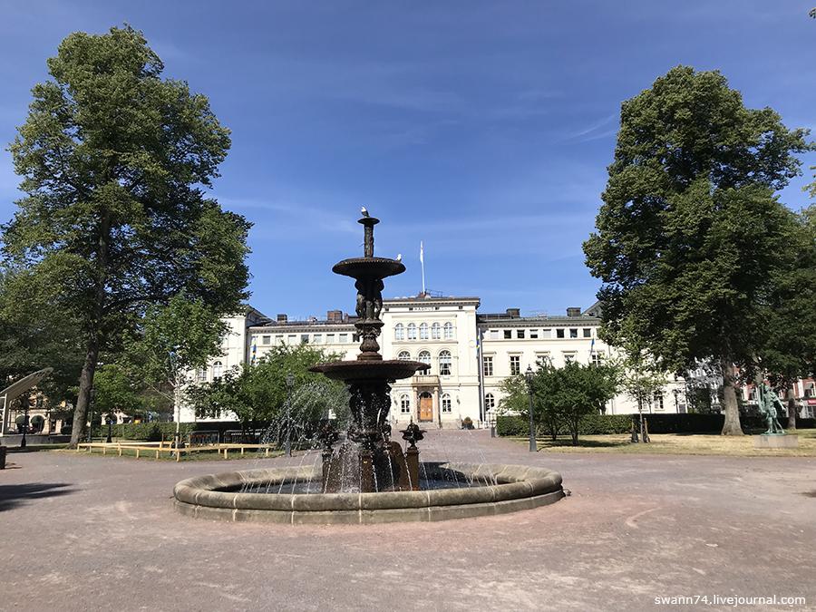 Йёнчёпинг, Швеция, Июль 2018 года