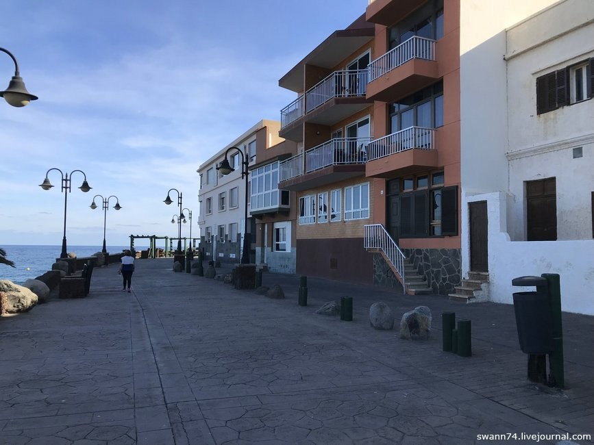 Playa de Melenara, Гран Канария, январь 2019 года