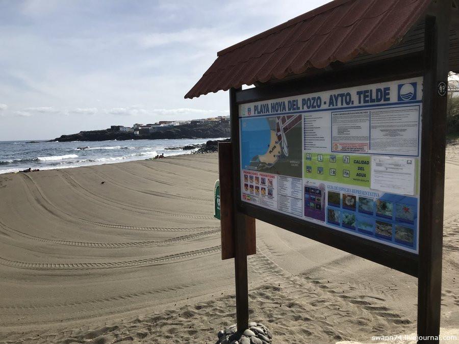 Playa Hoyo del Pozo, Гран Канария, 3 января 2019 года