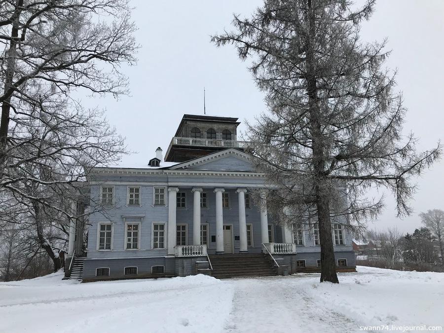 Рождествено, Гатчинский район, декабрь 2018 года
